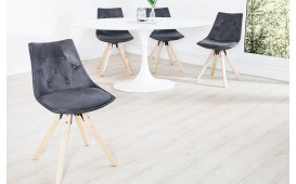 Designer Stuhl BRIT ANTIK GREY