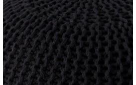 Designer Sitzhocker CUDDLE BLACK