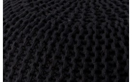 Tabouret Design CUDDLE BLACK