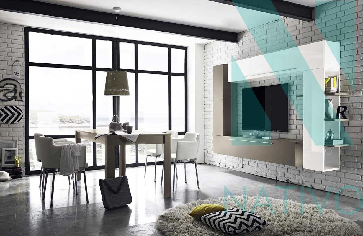 Designer Wohnwand STRIP Nativo Moebel Schweiz