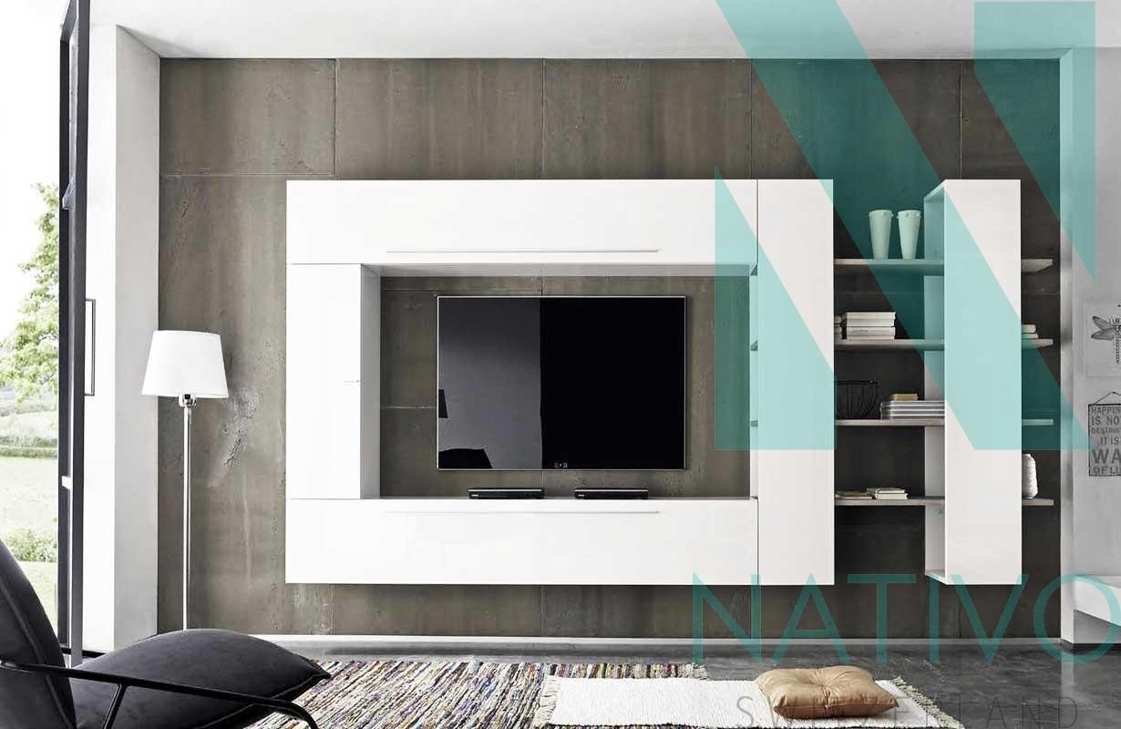 Designer Wohnwand CAYENNE Nativo Moebel Schweiz