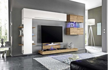 designer wohnwand campania nativo moebel schweiz. Black Bedroom Furniture Sets. Home Design Ideas