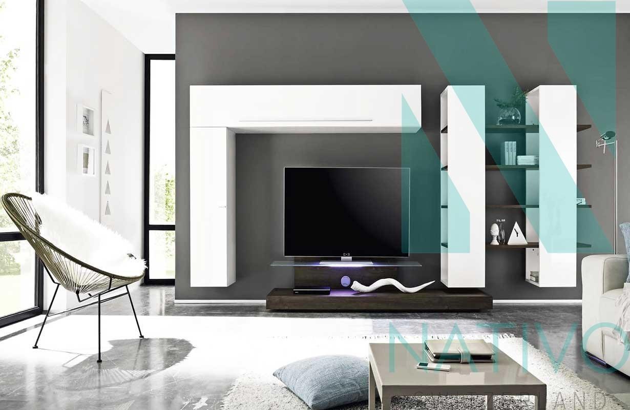 Mobile tv moderno toscana nativo mobili soggiorno - Mobile tv a parete ...