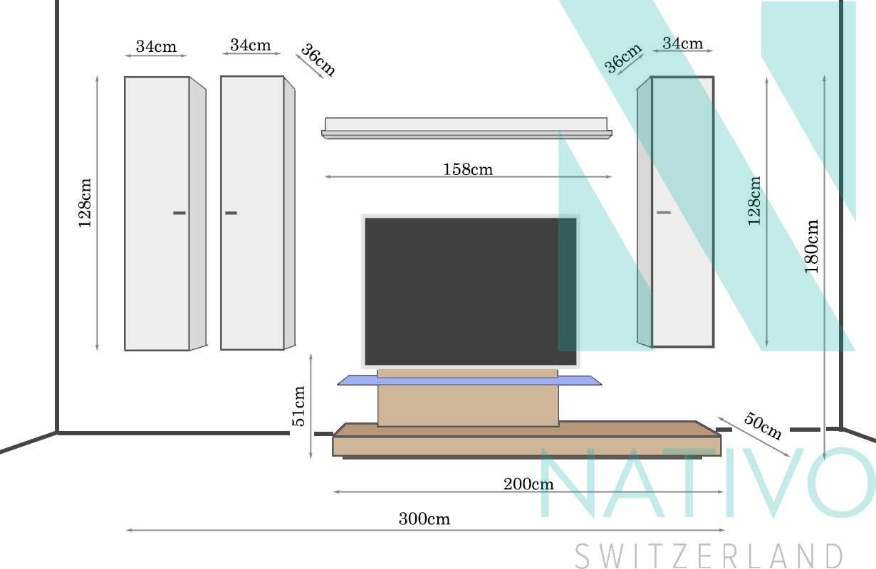 Mobile tv a parete calabria nativo mobili svizzera - Mobile tv a parete ...