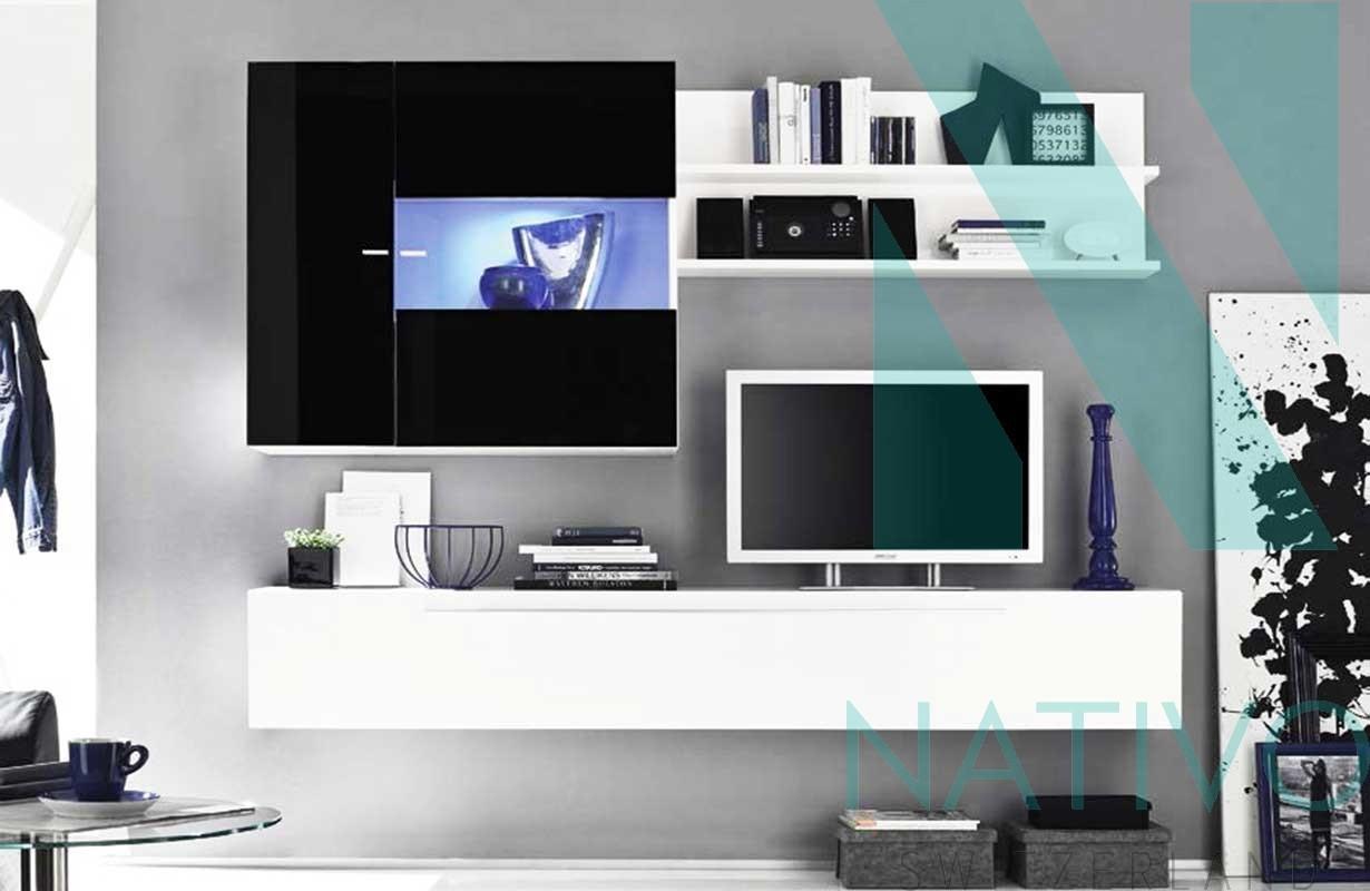 Mobile tv pensile siena nativo mobili salotto - Mobile tv a parete ...