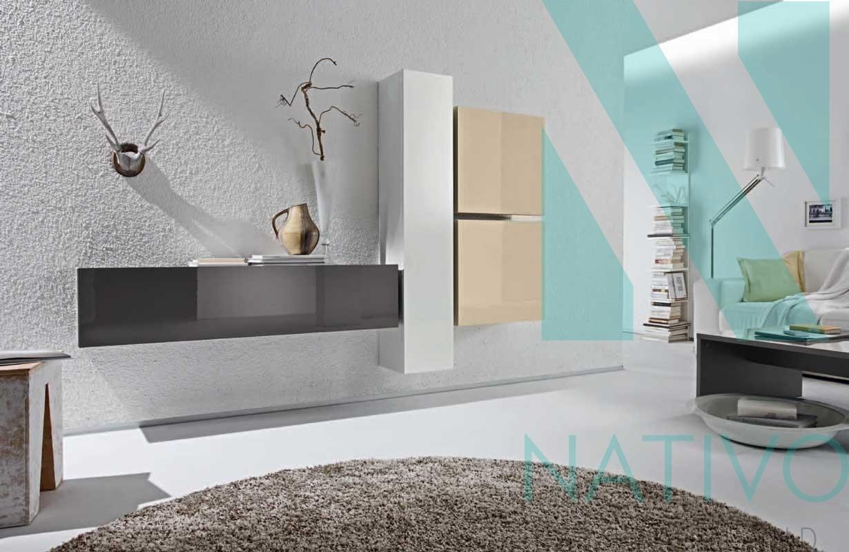 Mobile tv di design ferrara nativo arredamento soggiorno - Mobile tv a parete ...