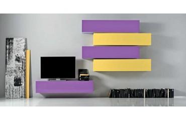 Meuble TV mural MATERA