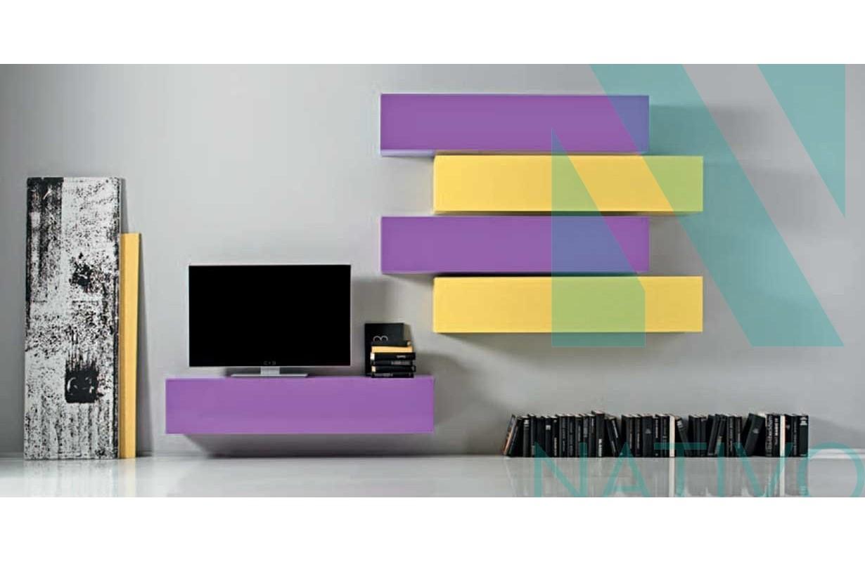 Designer wohnwand innovative idee von innenarchitektur for Designer wohnwand