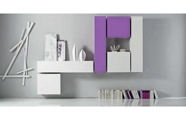 Designer Wohnwand TIVOLI