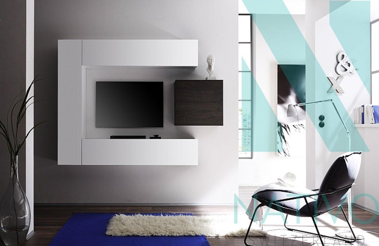 designer wohnwand sanremo nativo moebel schweiz. Black Bedroom Furniture Sets. Home Design Ideas