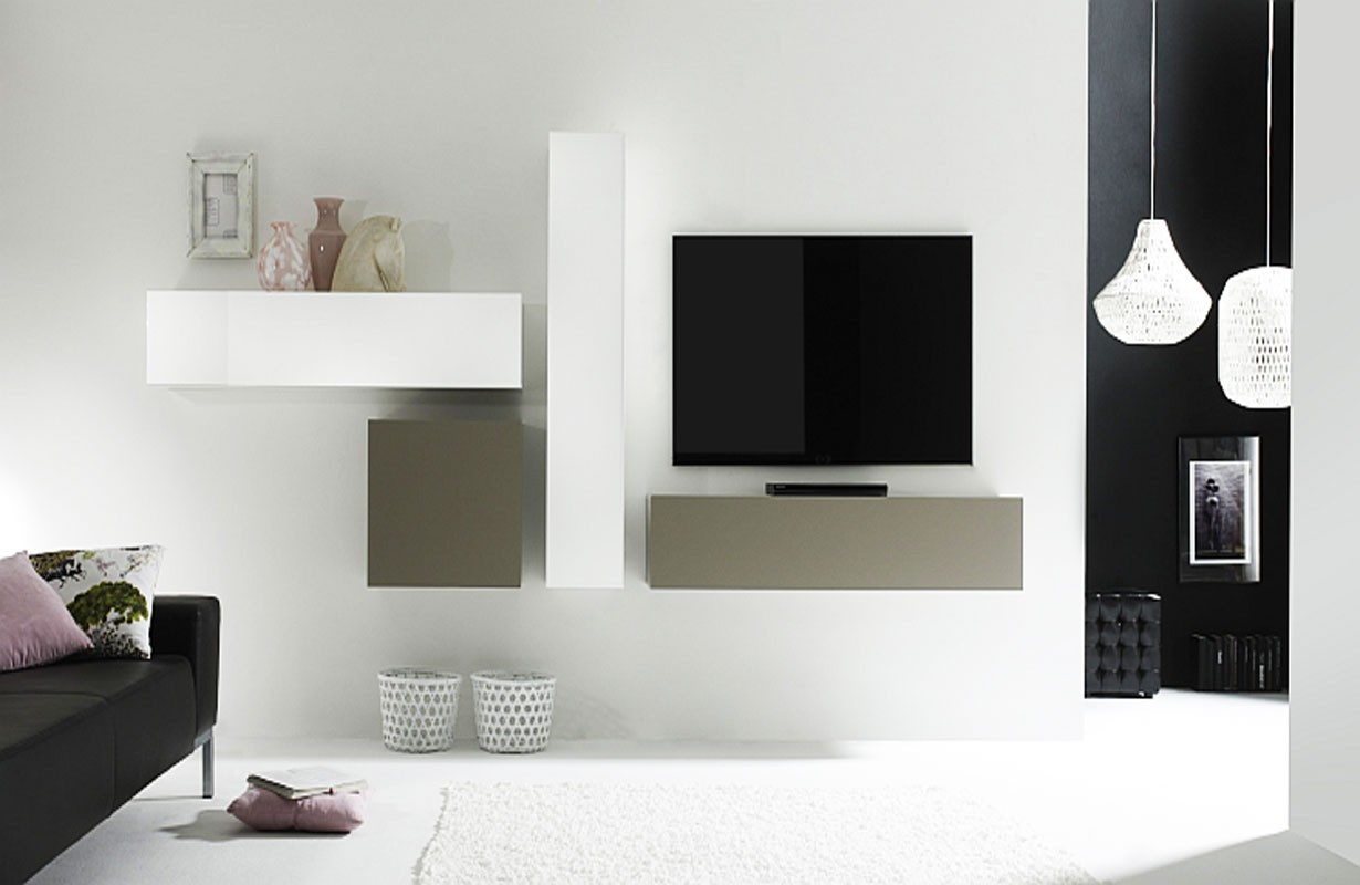 Designer Wohnwand Taranto Nativo Moebel Schweiz