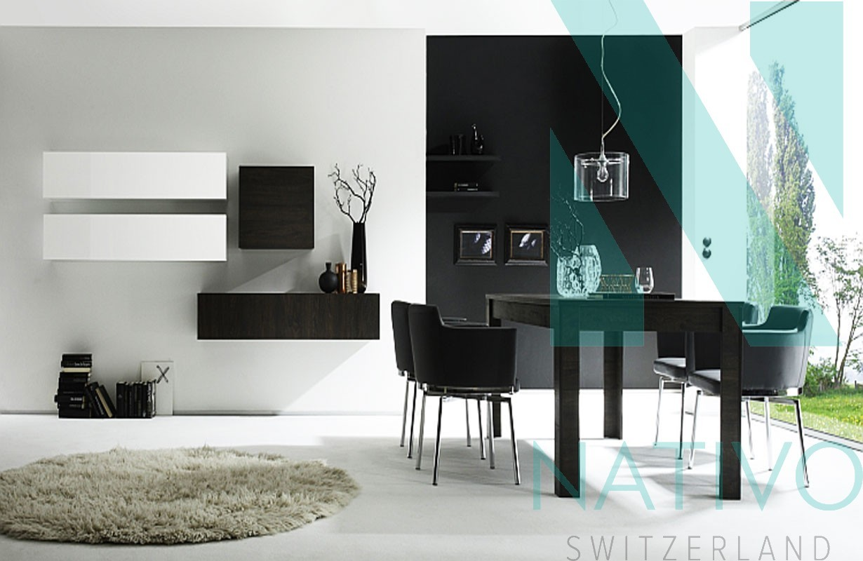 Nativo Meuble Moderne Meuble Tv Mural Brescia # Meuble Tv Mural Moderne
