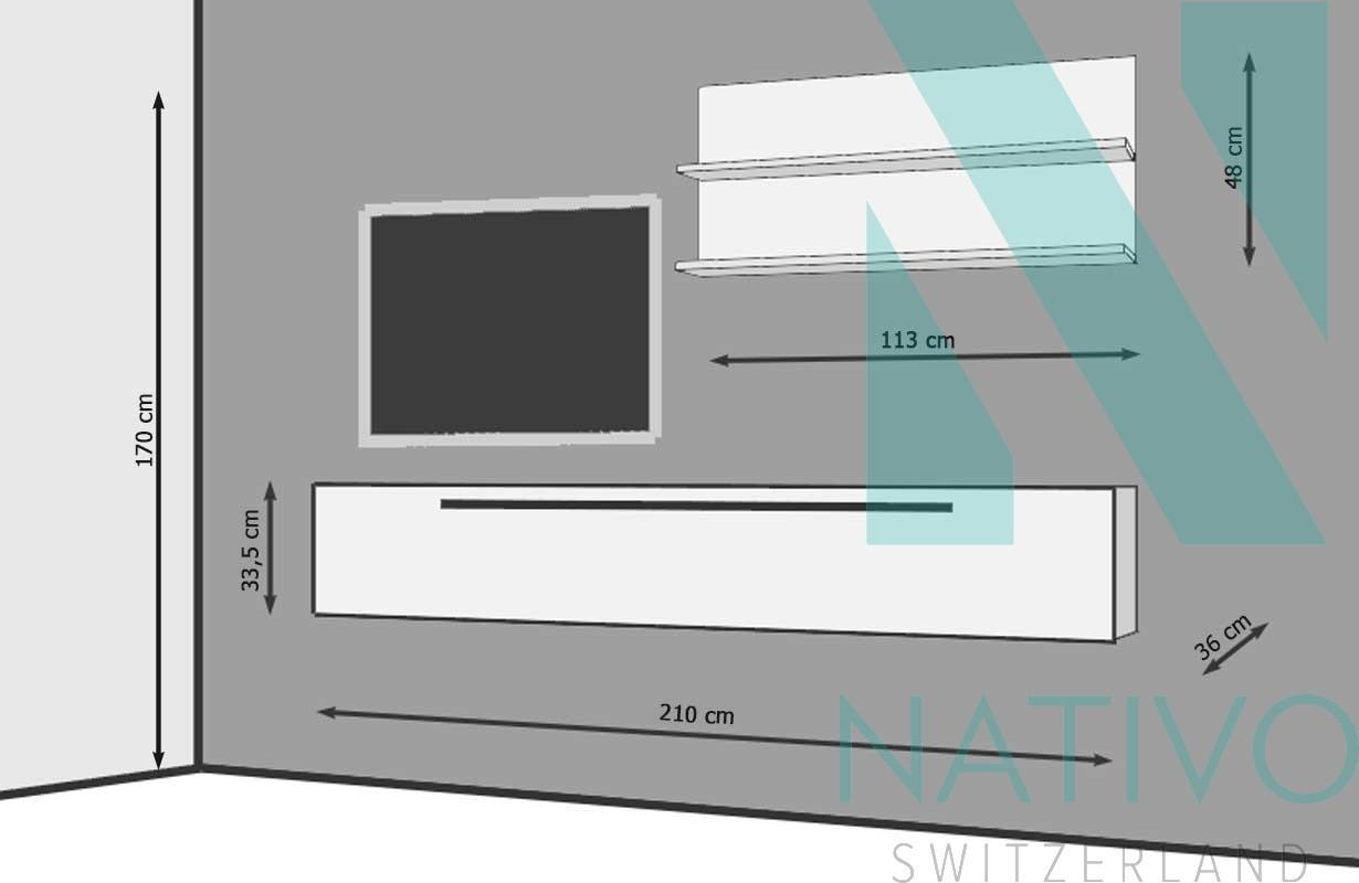 Mobile tv firenze nativo mobili soggiorno svizzera - Mobile tv a parete ...
