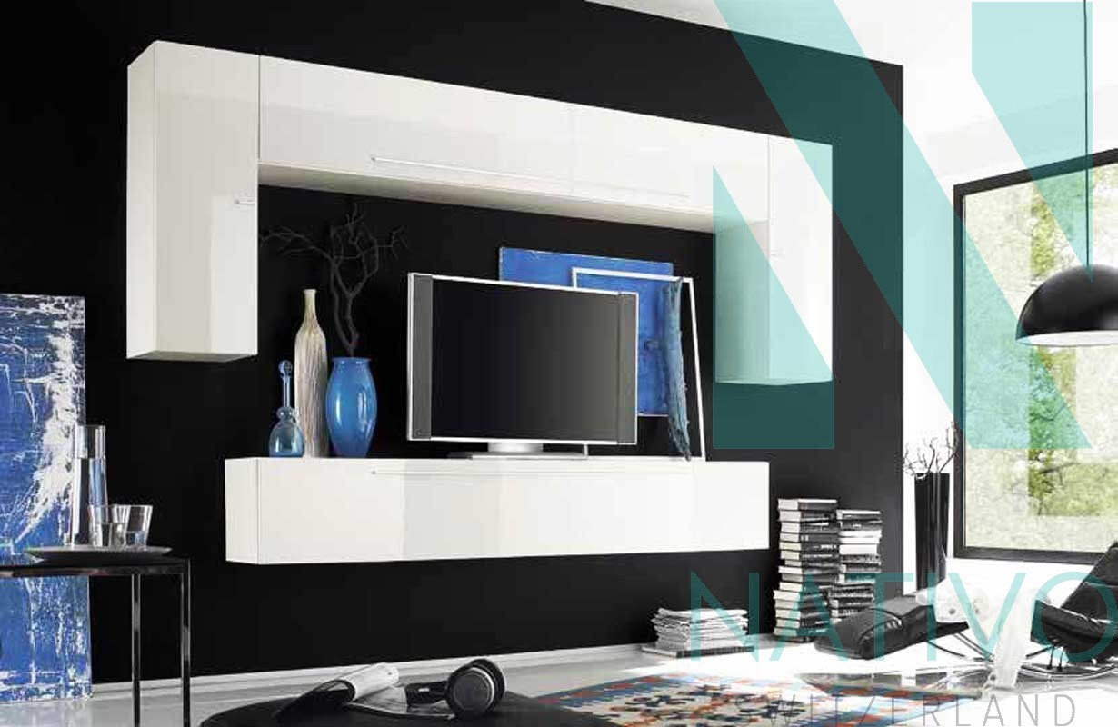 Meuble Tv De Salon meuble tv mural bologna