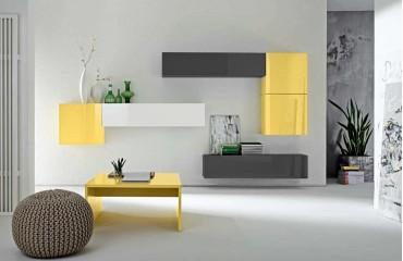 Designer Wohnwand RIMINI