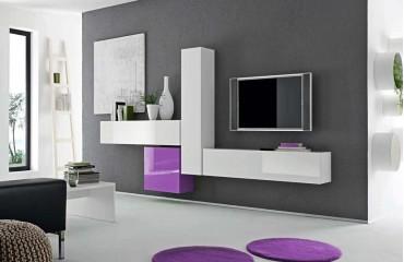 Designer Wohnwand VICENZA