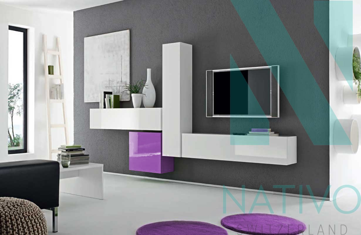 designer wohnwand vicenza nativo moebel schweiz. Black Bedroom Furniture Sets. Home Design Ideas