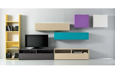 Designer Wohnwand NOVARA