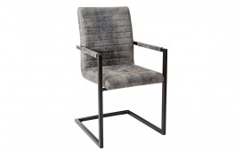 Chaise Design STATE ANTIK GREY