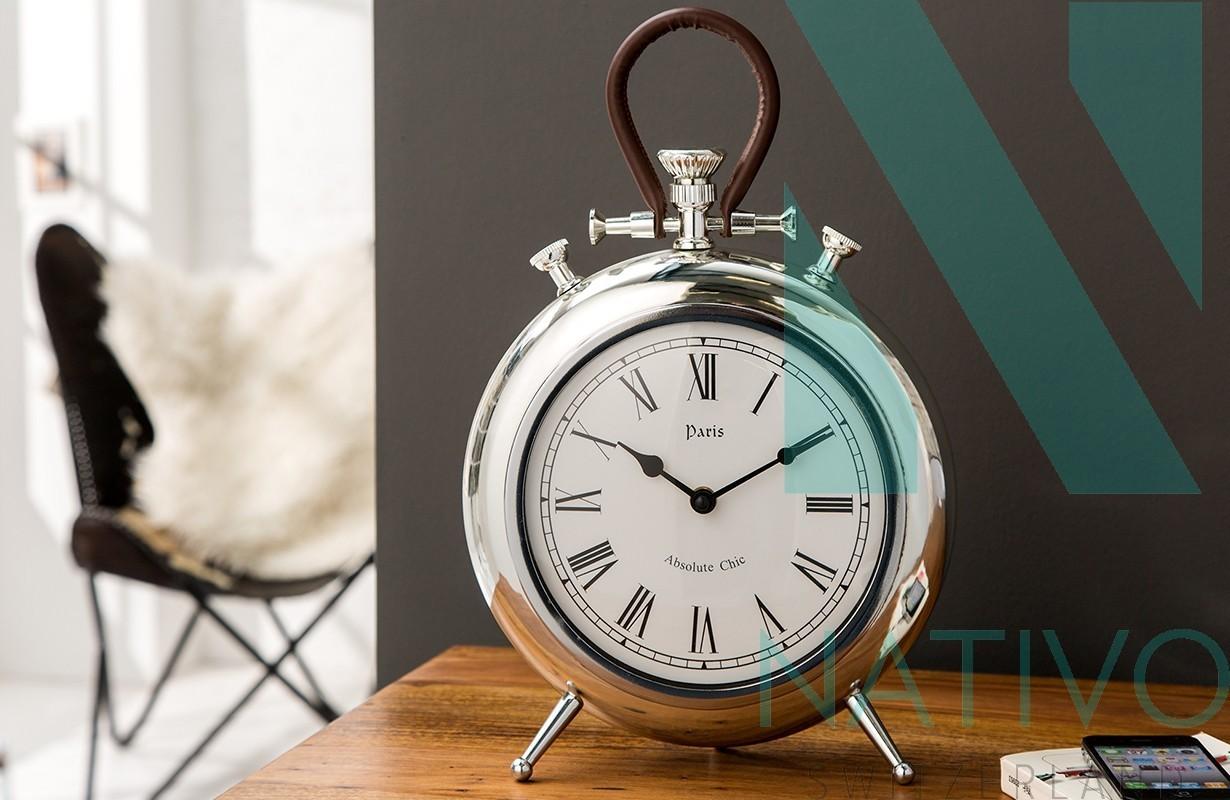 Orologi moderni deko chrom nativo mobili e accessori casa for Orologi di design