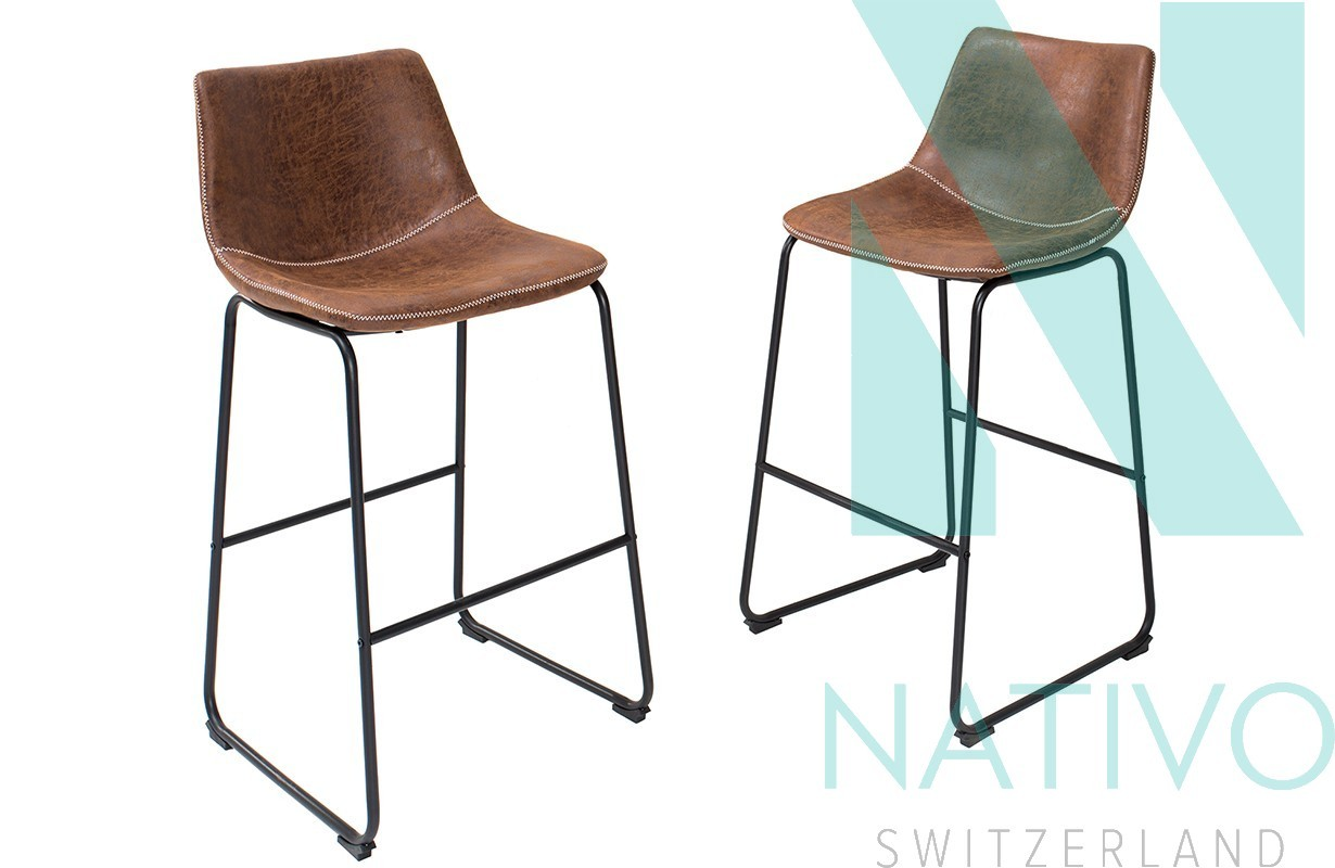 Designer barhocker quentin bei nativo m bel schweiz for Barhocker outlet
