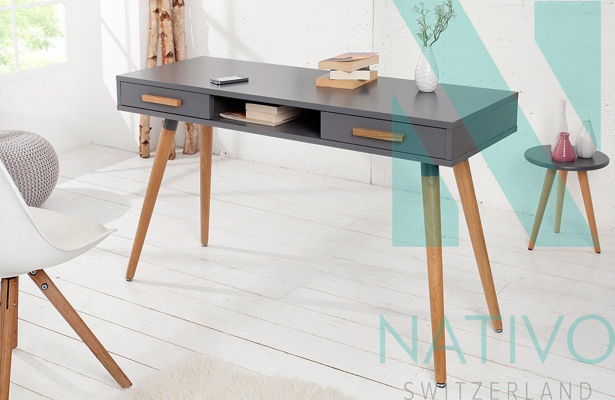 nativo schreibtisch man graphit g nstig online kaufen. Black Bedroom Furniture Sets. Home Design Ideas