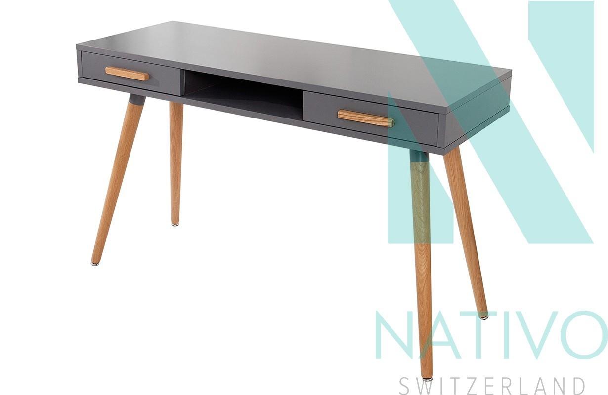 Nativo schreibtisch man graphit g nstig online kaufen for Designer schreibtisch accessoires