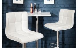 Designer Barhocker CESENA WHITE