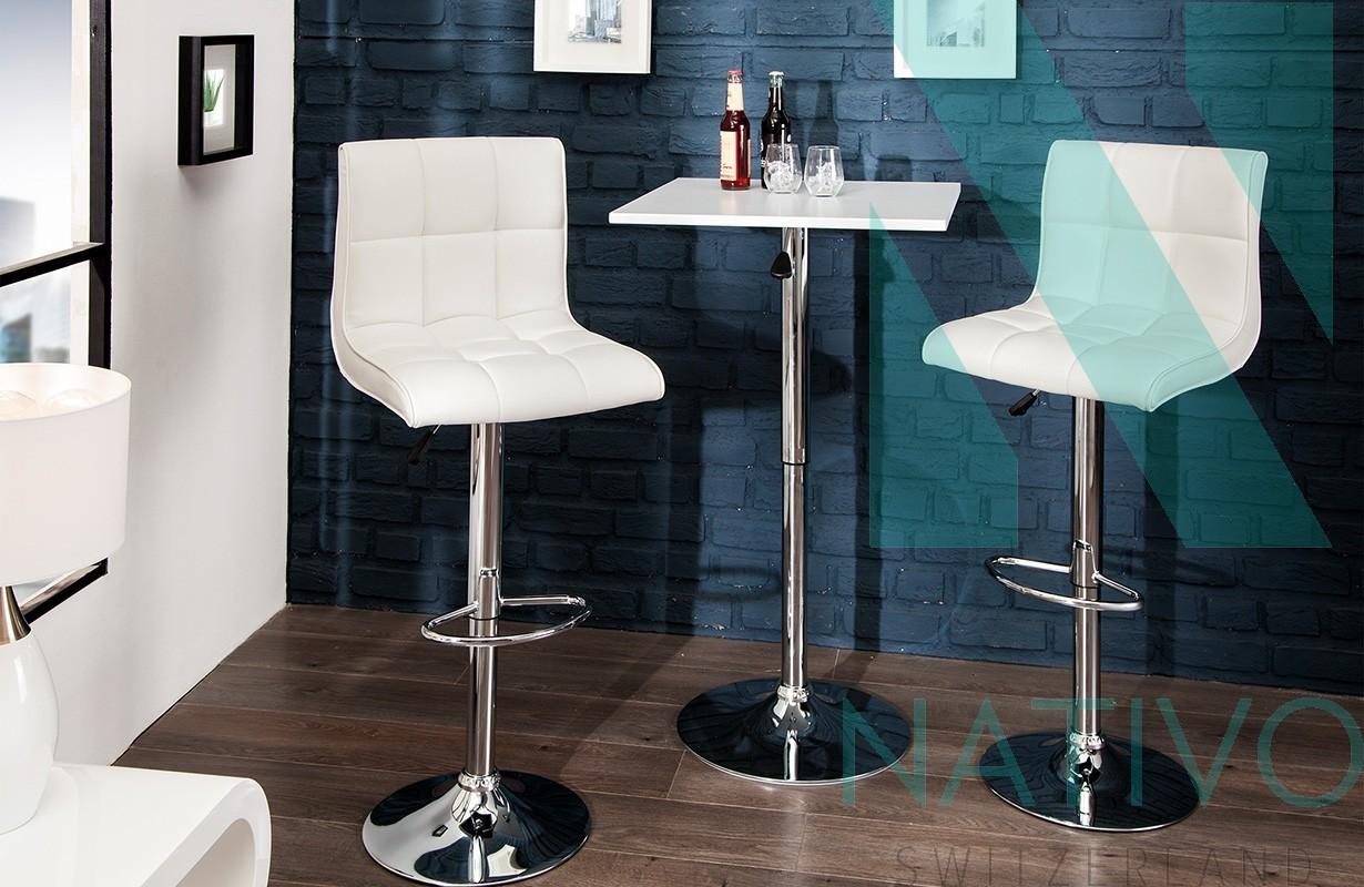 Designer Barhocker Cesena White Bei Nativo M Bel Schweiz