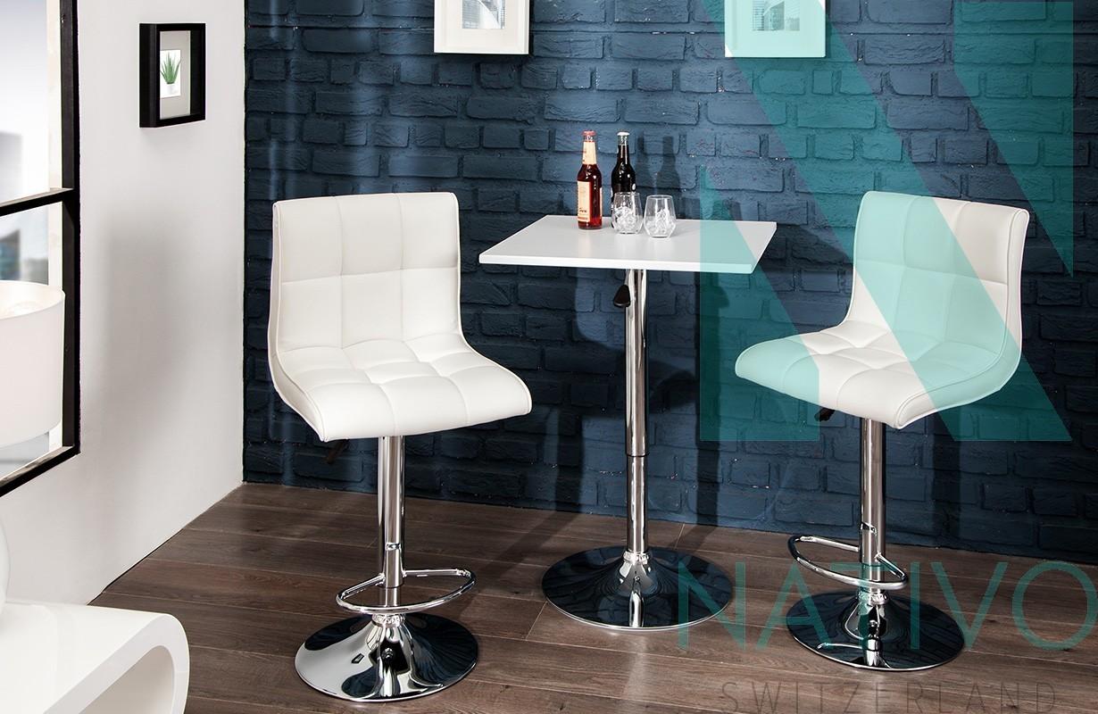 Designer barhocker cesena white bei nativo m bel schweiz for Design barhocker outlet