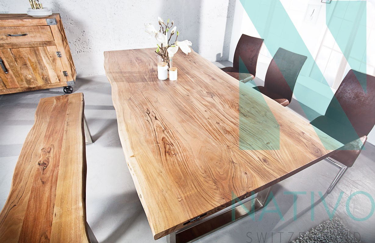 meuble moderne salle manger table taurus ii 160 cm. Black Bedroom Furniture Sets. Home Design Ideas