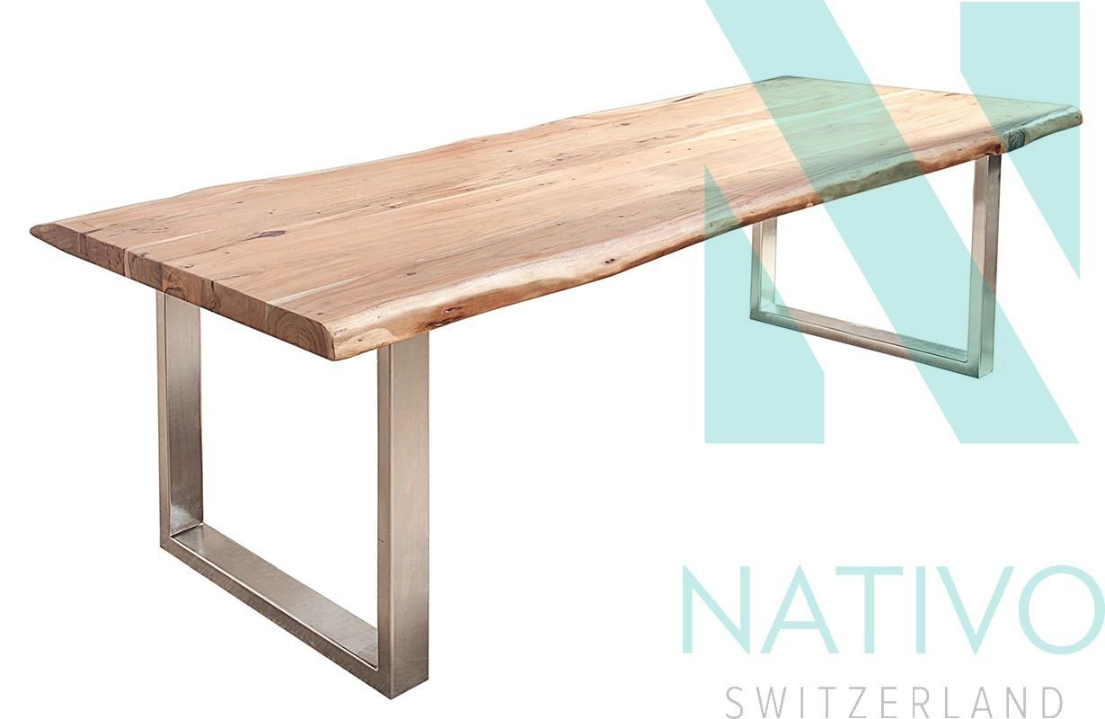 Meuble moderne salle manger table taurus 240 cm for Table de salle a manger 240 cm