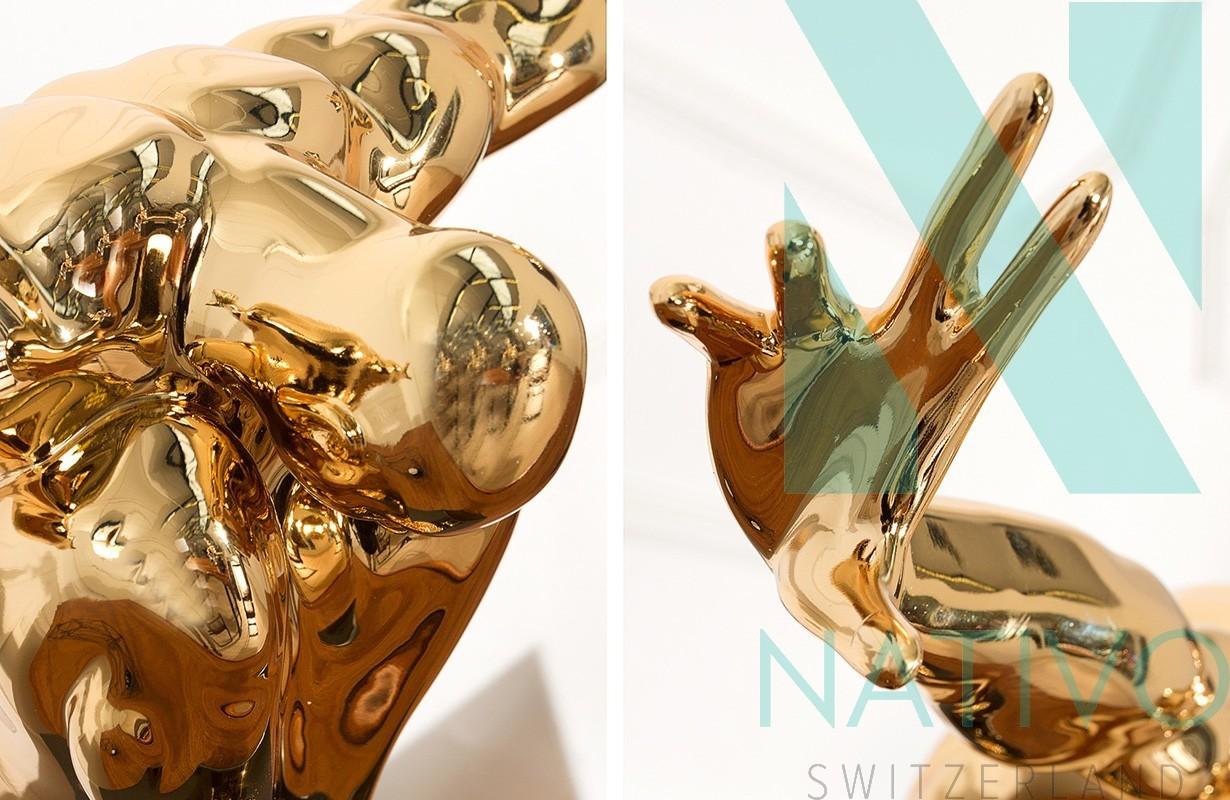 Deko atletico gold von nativo m bel in der schweiz for Accessoires deko babyzimmer