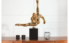 Designer Skulptur COMPET GOLD