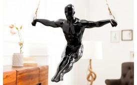 Designer Skulptur COMPET BLACK