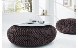 Designer Sitzhocker RELAX DARK COFFEE
