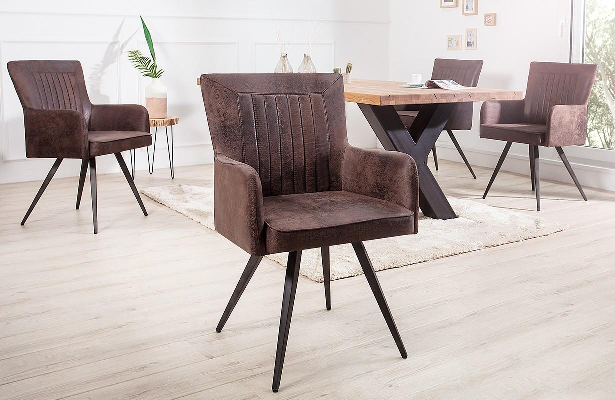stuhl roster brown bei nativo m bel schweiz g nstig kaufen. Black Bedroom Furniture Sets. Home Design Ideas