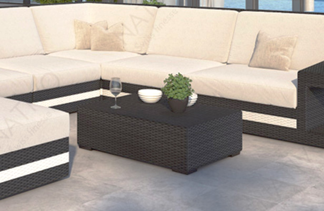 design rattan couchtisch carezza bei nativo m bel schweiz g nstig kaufen. Black Bedroom Furniture Sets. Home Design Ideas