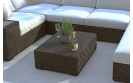 Designer Rattan Tisch NEYMAR