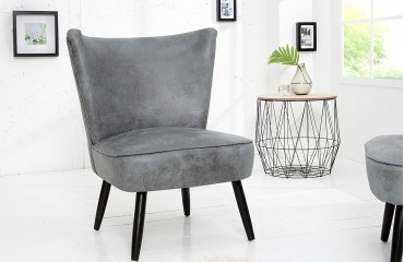 Fauteuil Lounge RECENT GREY