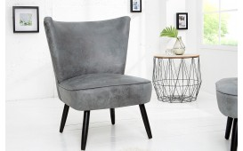 Designer Lounge Sessel RECENT GREY