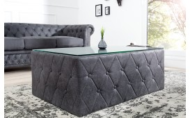 Designer Couchtisch CHESTERFIELD GREY