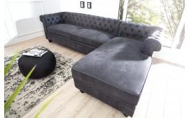 Sofa Garnitur CHESTERFIELD GREY