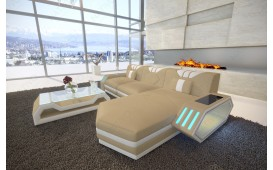 Canapé Design CLERMONT MINI avec éclairage LED
