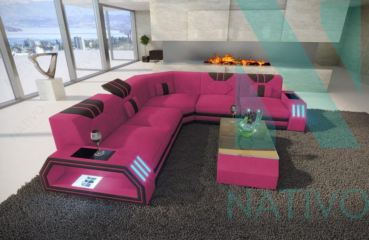 ledersofa clermont corner im nativo m bel schweiz online shop kaufen. Black Bedroom Furniture Sets. Home Design Ideas
