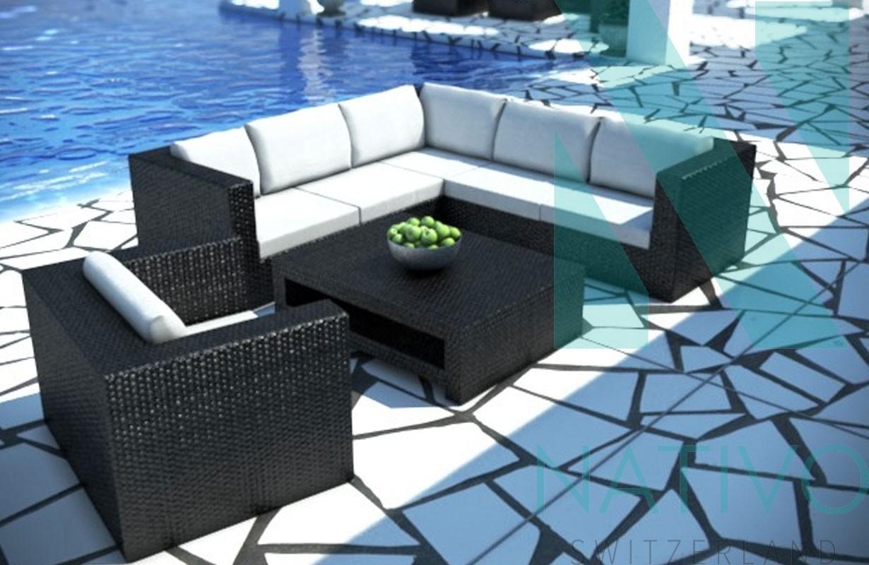 rattan lounge barcelona v1 von nativo m bel schweiz. Black Bedroom Furniture Sets. Home Design Ideas