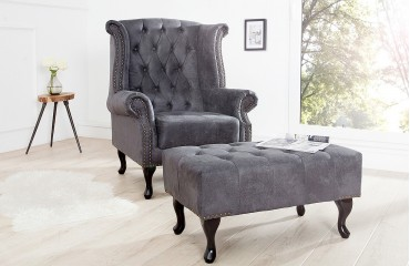 Fauteuil Relax CHEASTER GREY