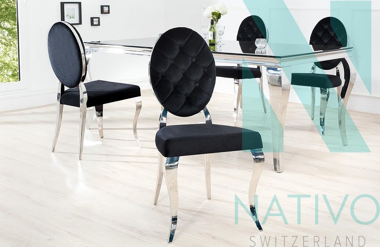 chaise design rocco ii nativo suisse prix sold s. Black Bedroom Furniture Sets. Home Design Ideas