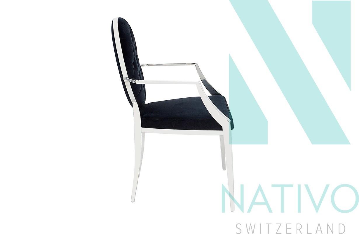 stuhl rocco ii mit armlehne bei nativo m bel schweiz g nstig kaufen. Black Bedroom Furniture Sets. Home Design Ideas