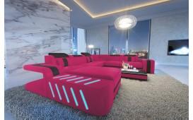 Canapé Design SPACE XXL avec éclairage LED